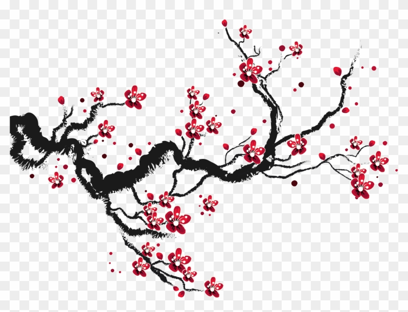 Blossoms Transprent Png Free - Draw Cherry Blossom Trees Clipart #571820