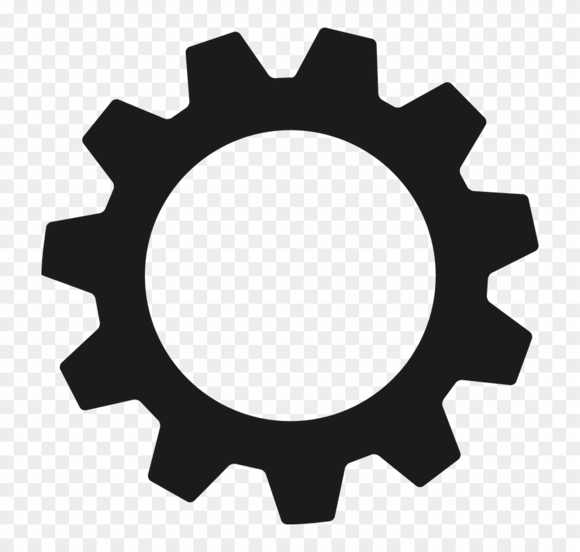Gear Png Image Background - Transparent Background Gear Icon Clipart@pikpng.com