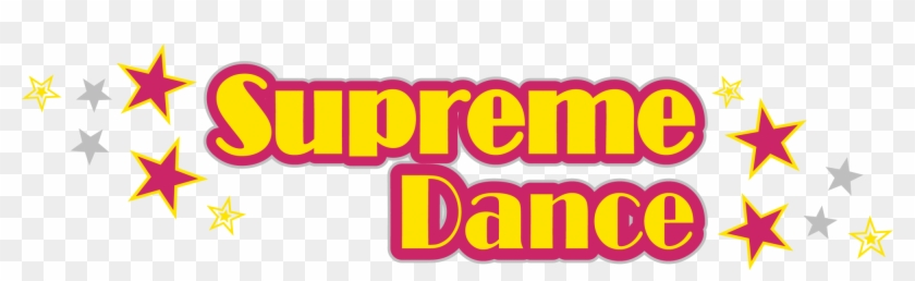 Cropped Supreme Dance Logo Lge May 16 - Amber Clipart #575433