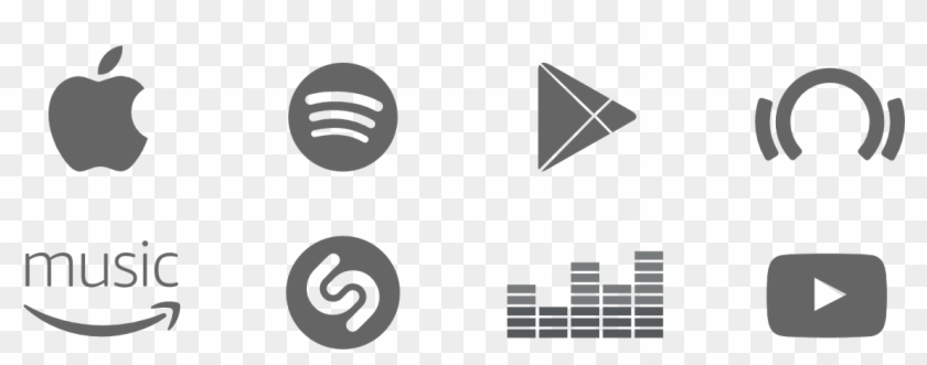 Apple Music Spotify Google Play Beatport Amazon Amazon Music Logo Png Clipart 576341 Pikpng This logo was used from iphone os 1 to ios 4. amazon music logo png clipart