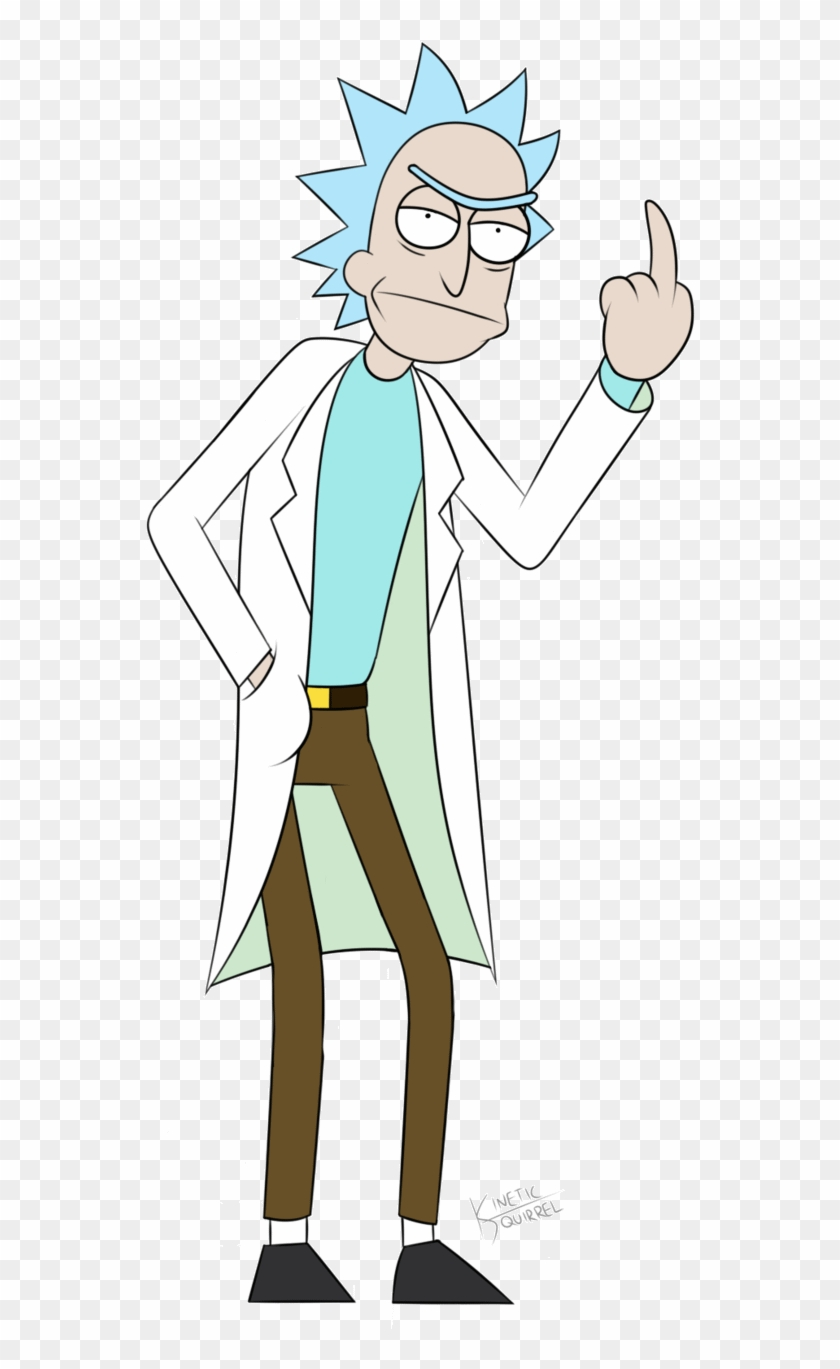 Rick And Morty Gif Png - Rick Sanchez Full Body Clipart #577528