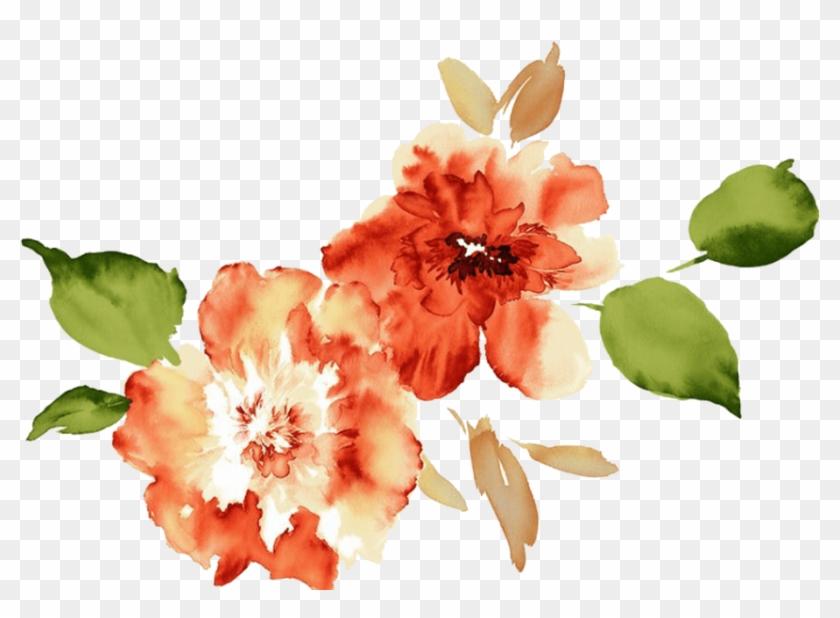 Peach Flower Clip Art