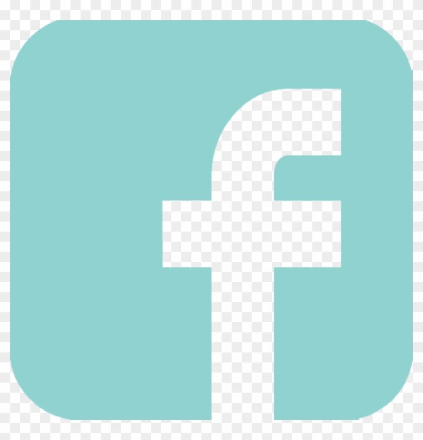 Free Png Download Teal Facebook Logo Png Images Background - Facebook Logo Teal Png Clipart #579608