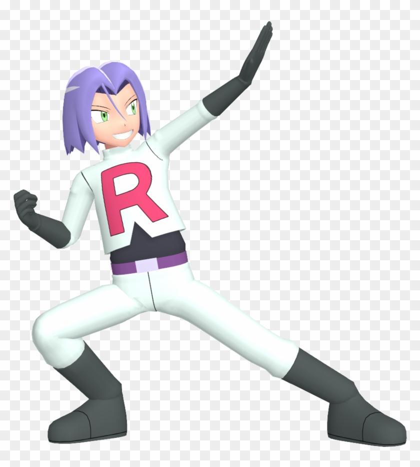 Team Rocket Png - Team Rocket James Png Clipart #579998