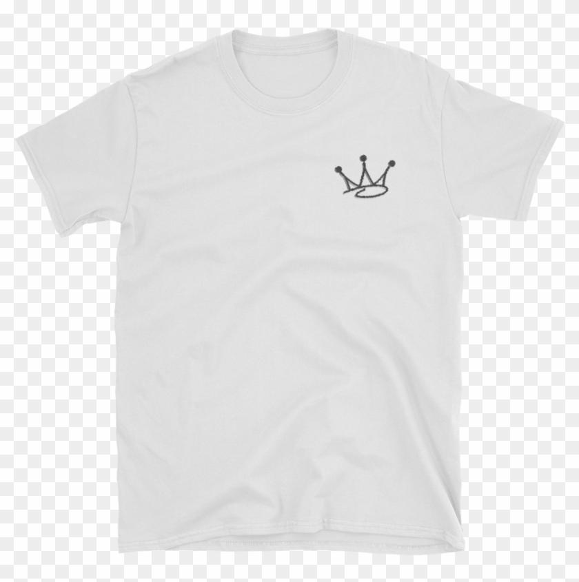 Graffiti Crown White Tee - T Shirt Nike Footwear 1 Clipart #5703353