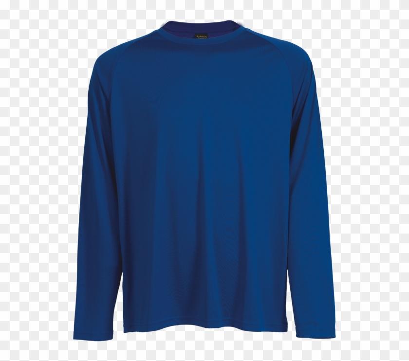 Tsl135b 135g Long Sleeve Polyester T-shirt , Tsl135b - Long-sleeved T-shirt Clipart #5704486