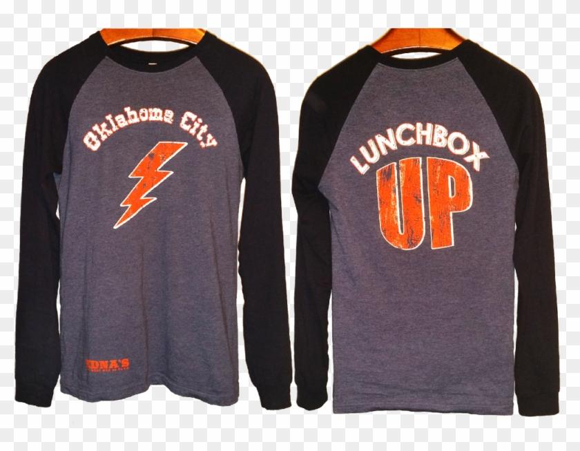 Edna's Long Sleeve Lunchbox Up 2 Toned Shirt - Long-sleeved T-shirt Clipart #5704983