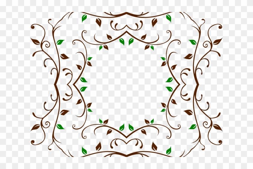 Vine Clipart Frame - Clip Art - Png Download #5706017