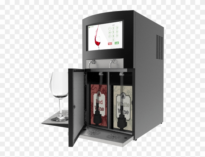 """The Emerald Wine Dispenser Is A """"green"""" Operation That - Shelf, HD Png Download #5707218"""