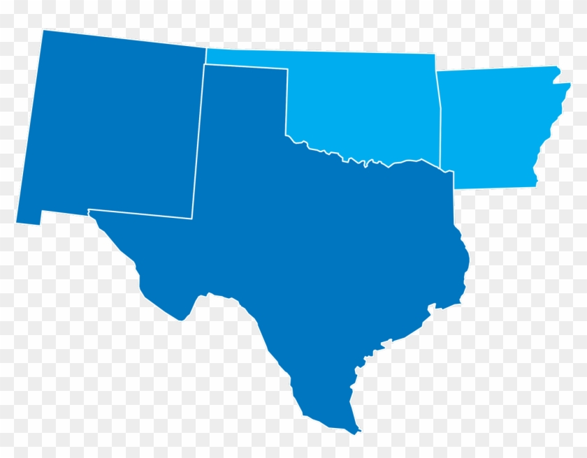 Map Ok And Tx Bevco Inc Providing Service To Oklahoma - Elecciones Estados Unidos 2018 Clipart #5719169
