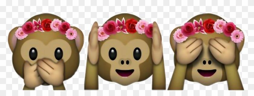 Flower Crown Emoji Png Crown Wallpaper Hd Imagesoorg - 🙈 🙉 🙊 Emoji Clipart #5720900