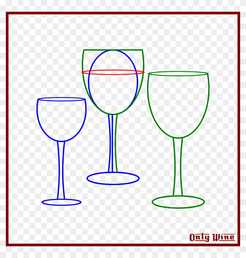 Sketch Clipart Wine Glass Clip Art - Wine Glass - Png Download #5731701