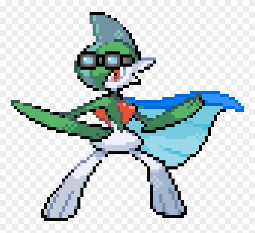 Leaf The Gallade Porygon Z Pixel Art Clipart 5735594 Pikpng