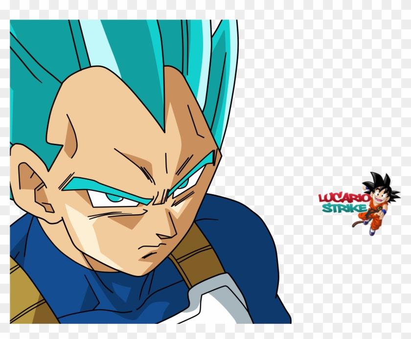 Vegeta Wallpaper And Background - Vegeta Goku Vegito Blue Clipart #5737585