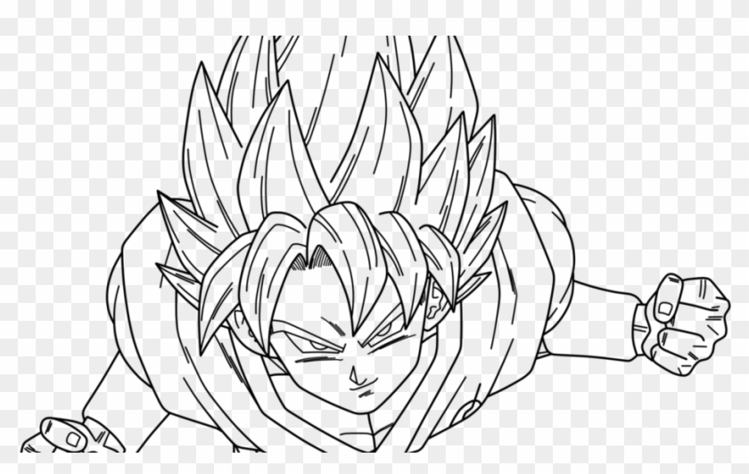Coloring Pages Goku Jane Baker Pinterest Dbz And Imposing ...
