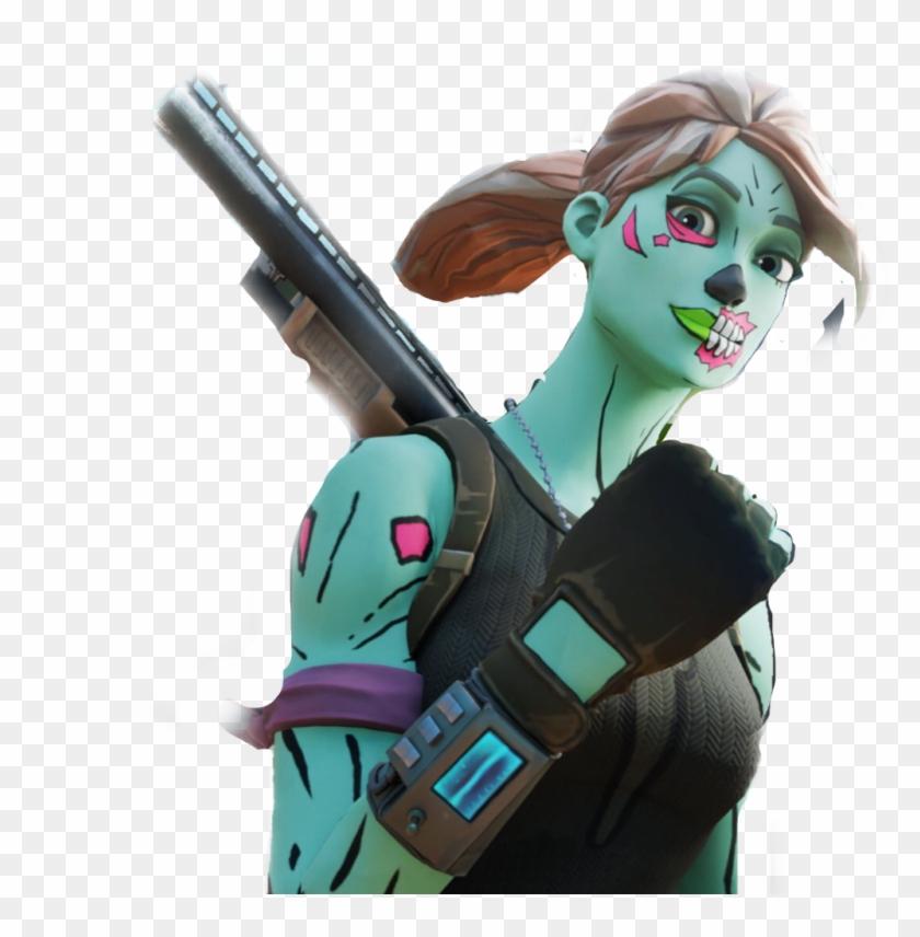 Pump Fortnite Ghoul Art Fortnite Hd Png Download