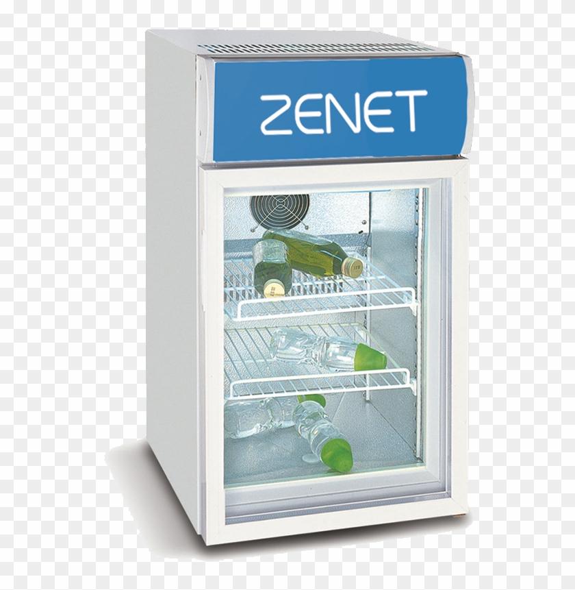 Zenet Table Top Single Door Chiller - Water Bottle Clipart #5746286