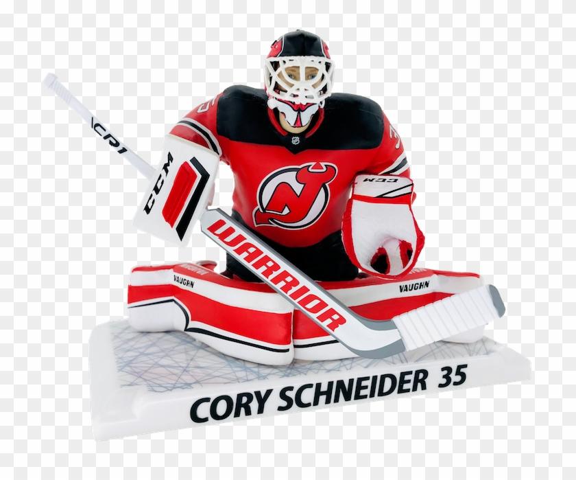 Schneider New Jersey Devils Front - National Hockey League Clipart #5757600