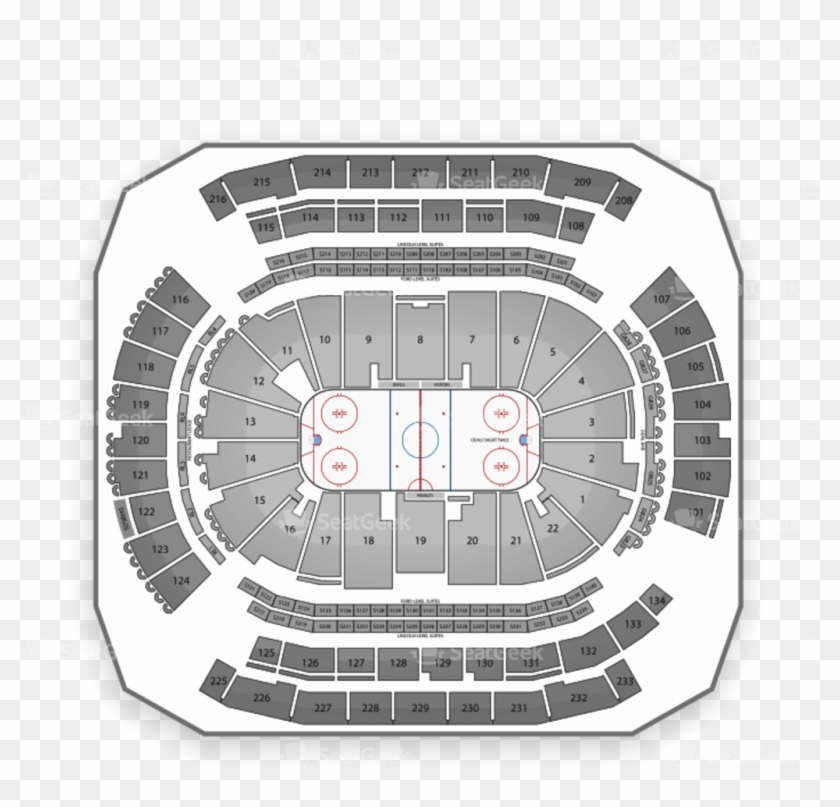 New Jersey Devils Tickets Seatgeek - Prudential Center Clipart #5757647