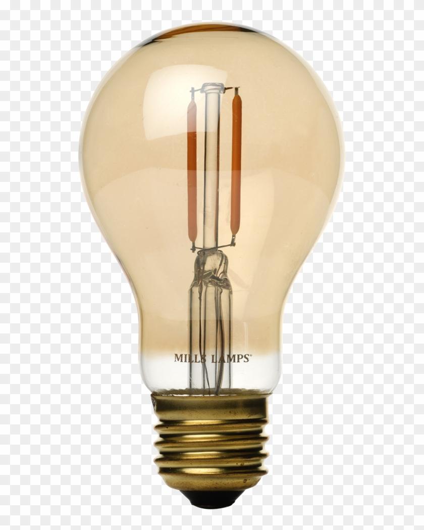 Edison Mills A19 Victorian Led Filament Light Bulb - Incandescent Light Bulb Clipart #5760942
