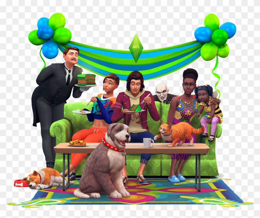 Even Though We're Eighteen, And Hopefully Past Our - Sims 4 Happy Birthday Clipart #5761172