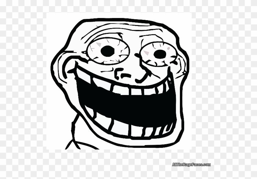 Ben's Website - Transparent Crazy Troll Face Clipart #5763360