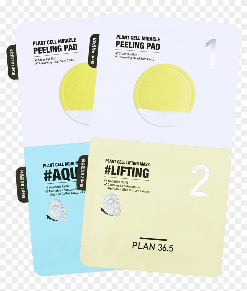 5 Plant Cell Lifting Mask 1pc 韩国plan36 - Paper Clipart #5765270