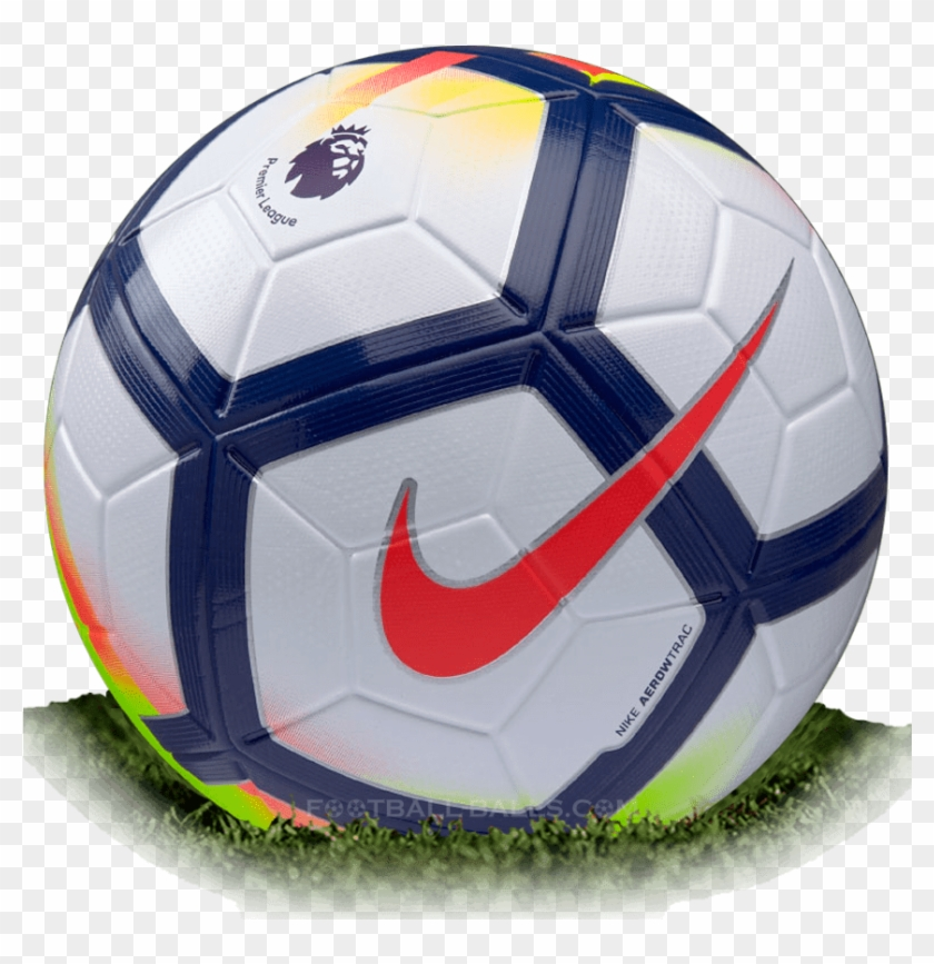 Nike Ordem 5 Is Official Match Ball Of Premier League - Premier League Ball 2018 Clipart #5791142