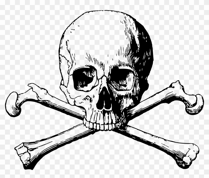 Cross Icons Free Downloads This Design Of Skull Bones Png Transparent Clipart 580921 Pikpng