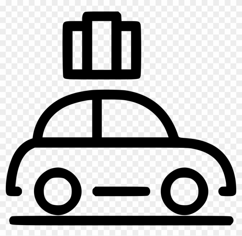 Car Travel Road Trip Comments - Travel Car Icon Png Clipart #582003