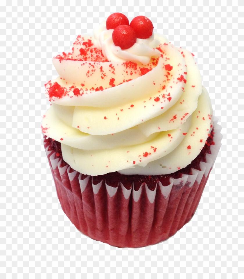 Red Velvet Cupcake Png - Red Velvet Cupcakes Png Clipart #583387