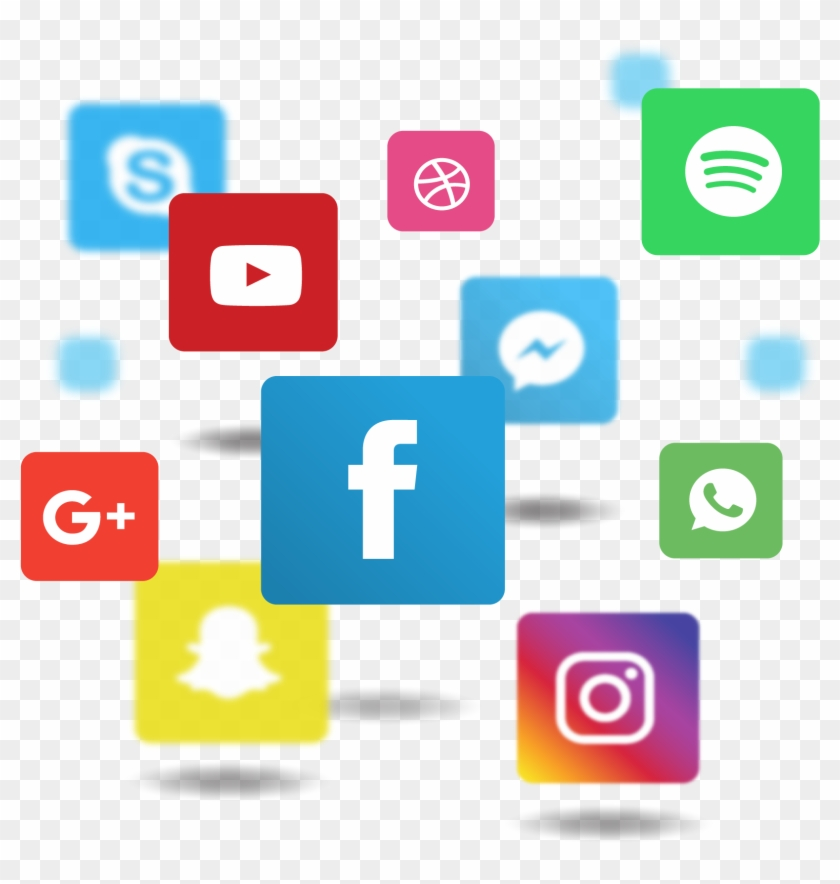 Social Media Png File - Facebook Instagram Circle Logo Clipart #583389