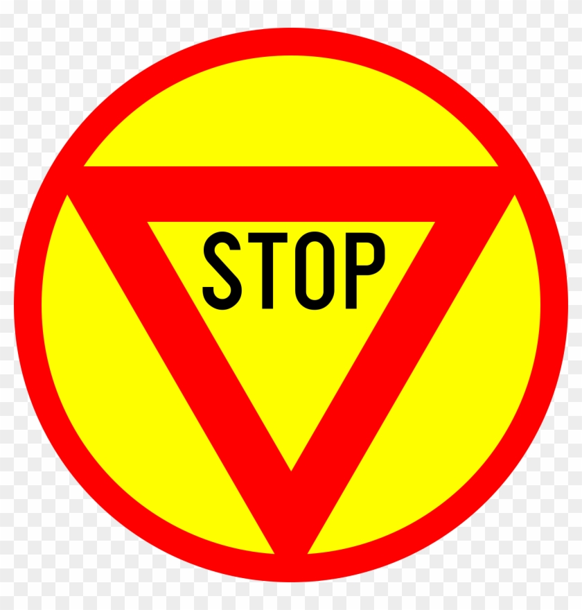 Clipart Of Stop Sign - Stop Sign - Png Download #585002