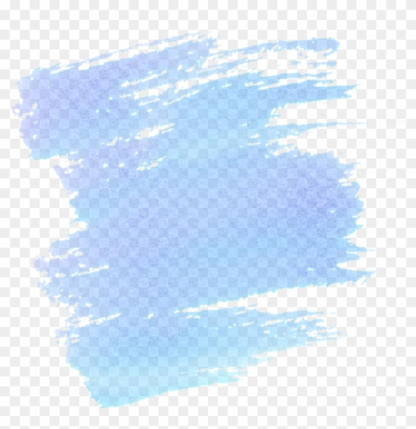 Watercolor - Pastel Brush Stroke Png Clipart@pikpng.com