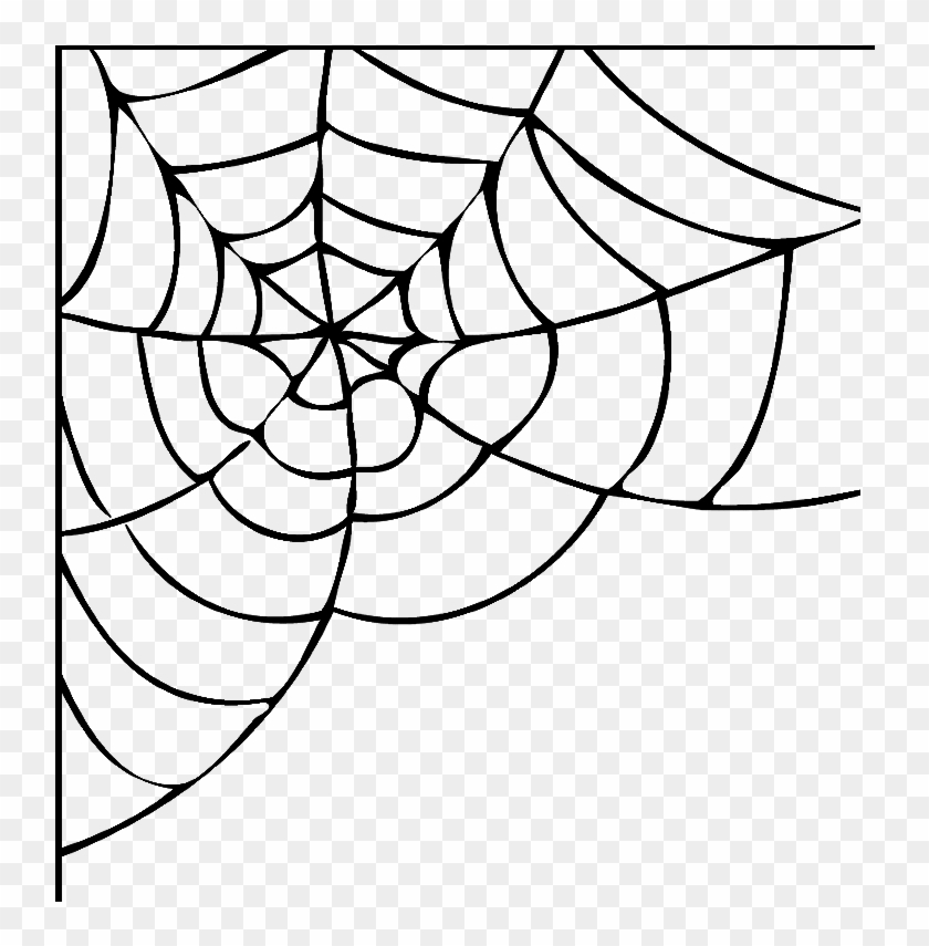 Halloween Spider Web Png High-quality Image - Halloween Spider Web Png Clipart #589769
