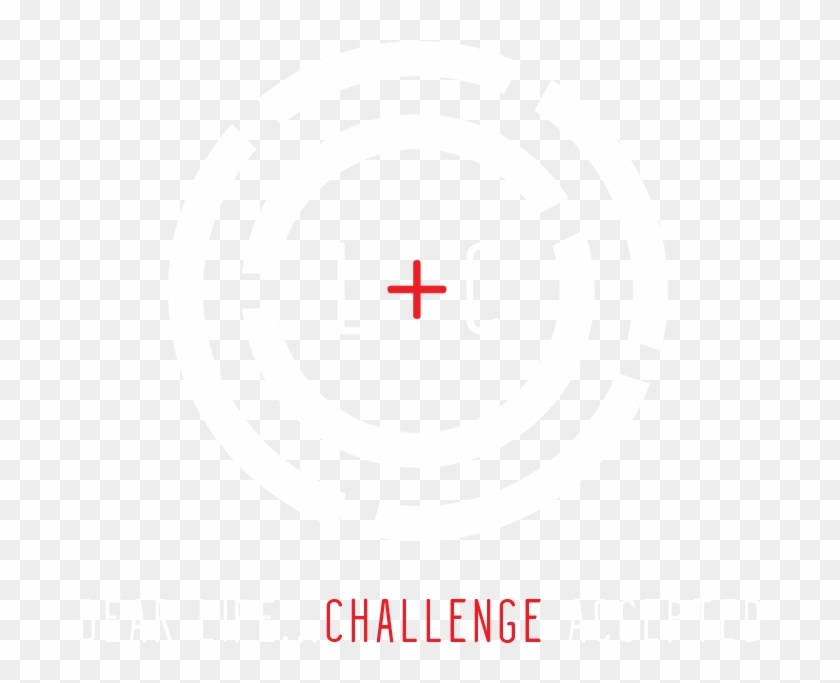 Accept The Challenge - Life Challenges Logo Clipart