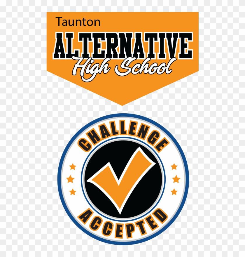 Taunton Alternative High School - Emblem Clipart #5808944