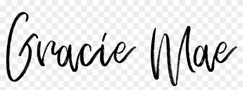 Gracie Mae - Calligraphy Clipart #5808974
