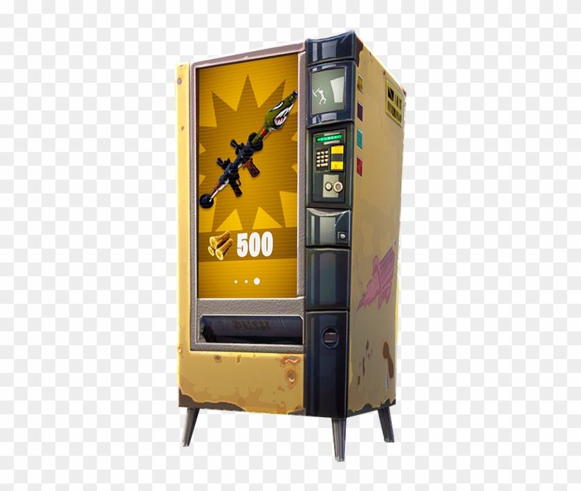 Hybs On Twitter Fortnite Gold Vending Machine Clipart 5809222 Pikpng