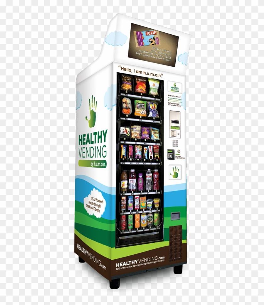 Make Money Running Your Own Vending Machines - Healthy Vending Machines In Schools Clipart #5809445
