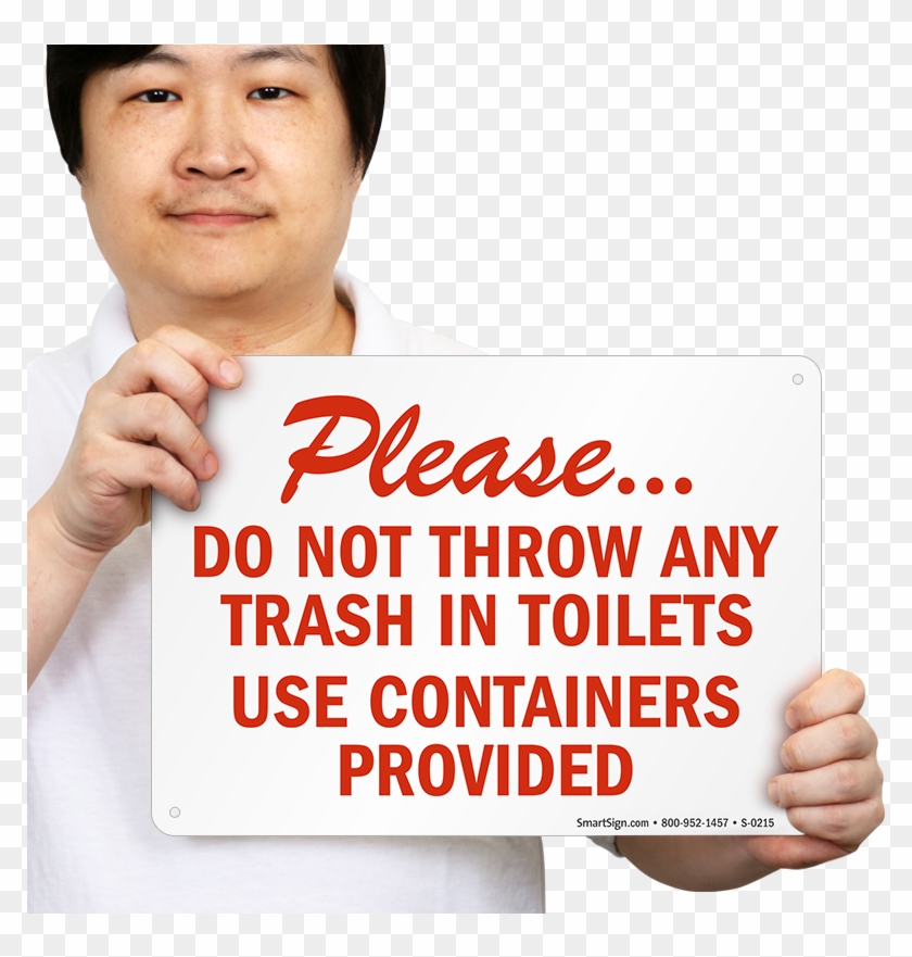 Spanish Not Trash - Please Leave Door Closed Sign Clipart #5810339
