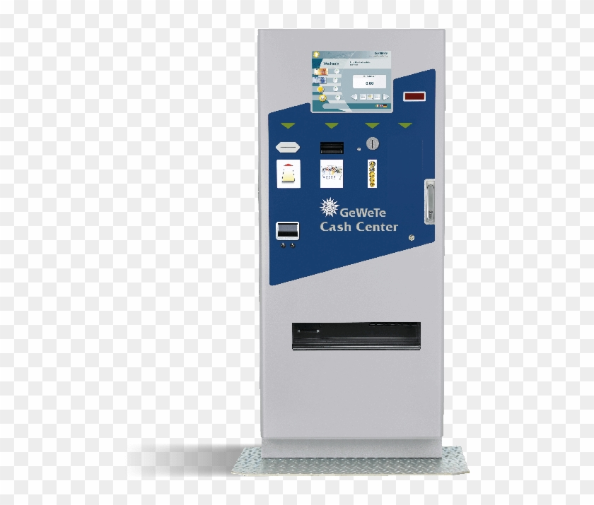 Money Changer Vending Machine , Png Download - Electronics Clipart #5810660