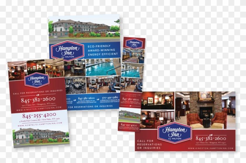 Hampton By Hilton , Png Download - Flyer Clipart #5814456