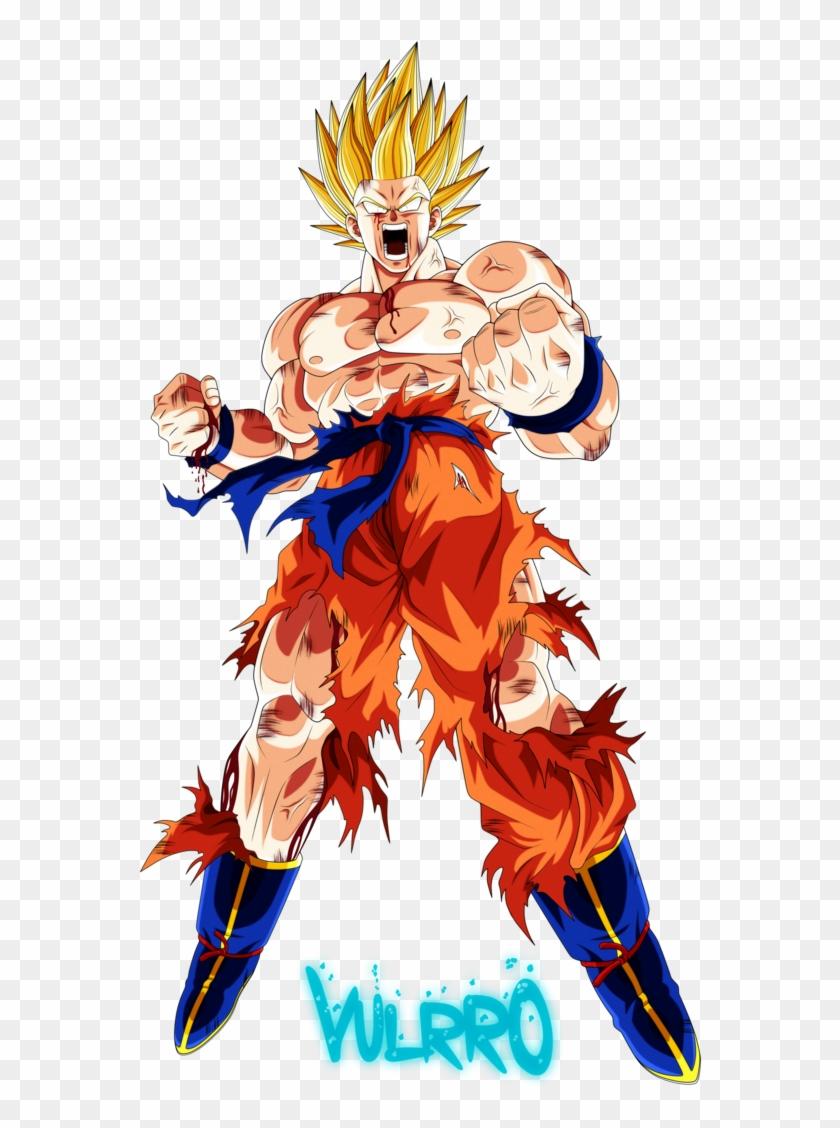 Goku Super, Dragon Ball Z, Goku Filho, Asd, Desenhos - Goku Ssj 1 Namek Clipart #5824679
