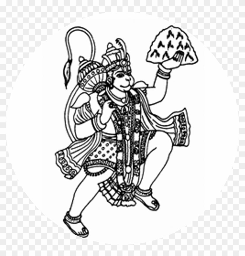 Meta Hanuman Ji Clipart Png Transparent Png 5834213 Pikpng