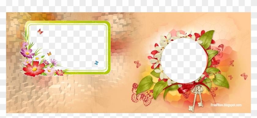 mug design in png flower frame background flower frame png gif clipart 5844485 pikpng flower frame png gif clipart