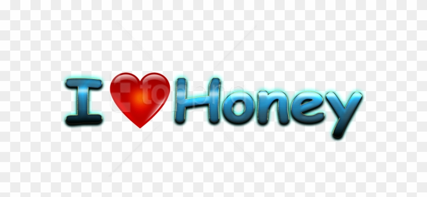 Download Honey Love Name Heart Design Png Png Images - Heart Clipart #5845073