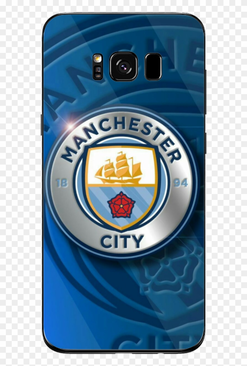 Manchester City Logo Samsung Mobile Cover Man City Wallpaper For Mobile Clipart 5865711 Pikpng