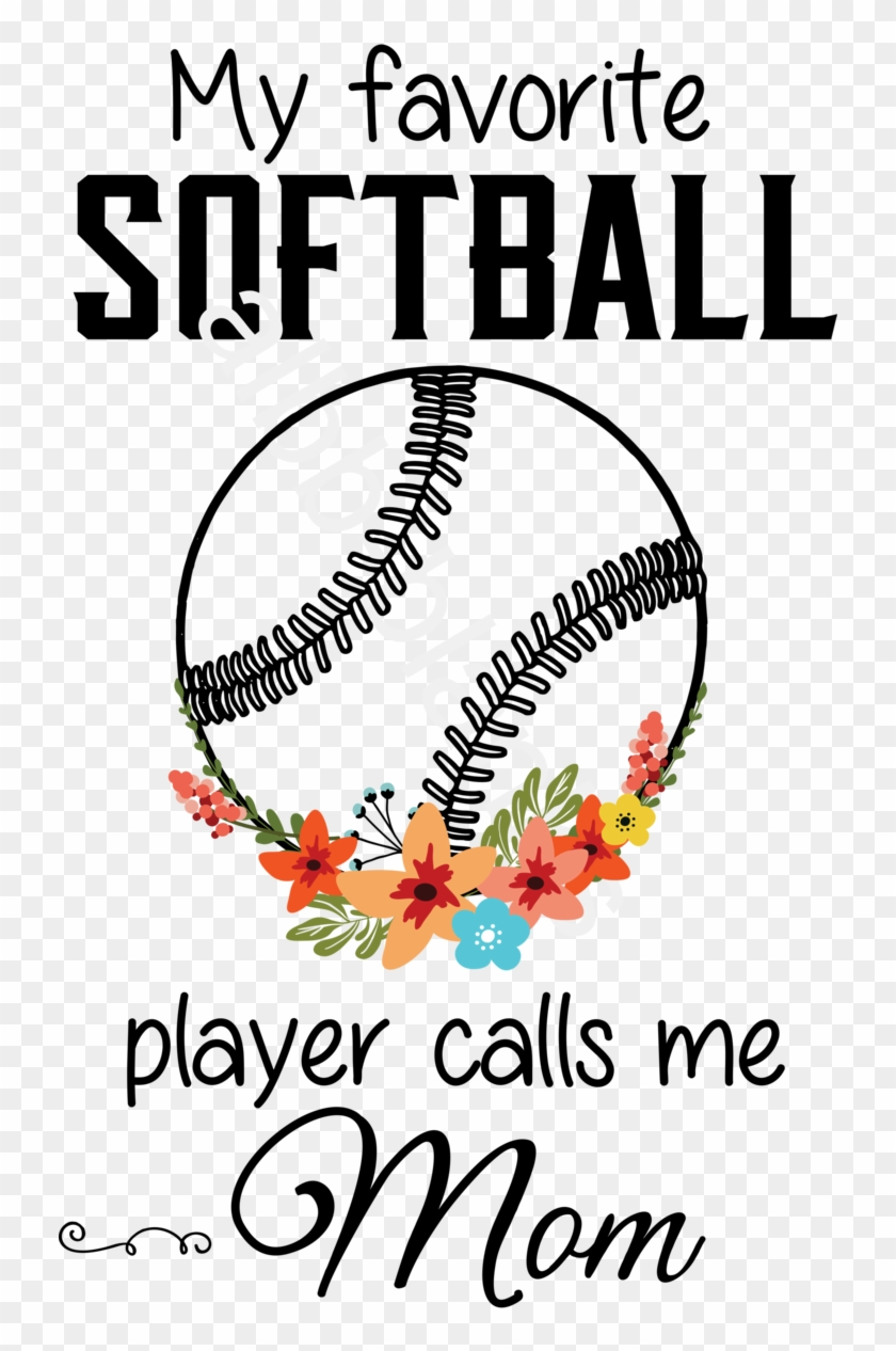 College Softball Clipart #5868242