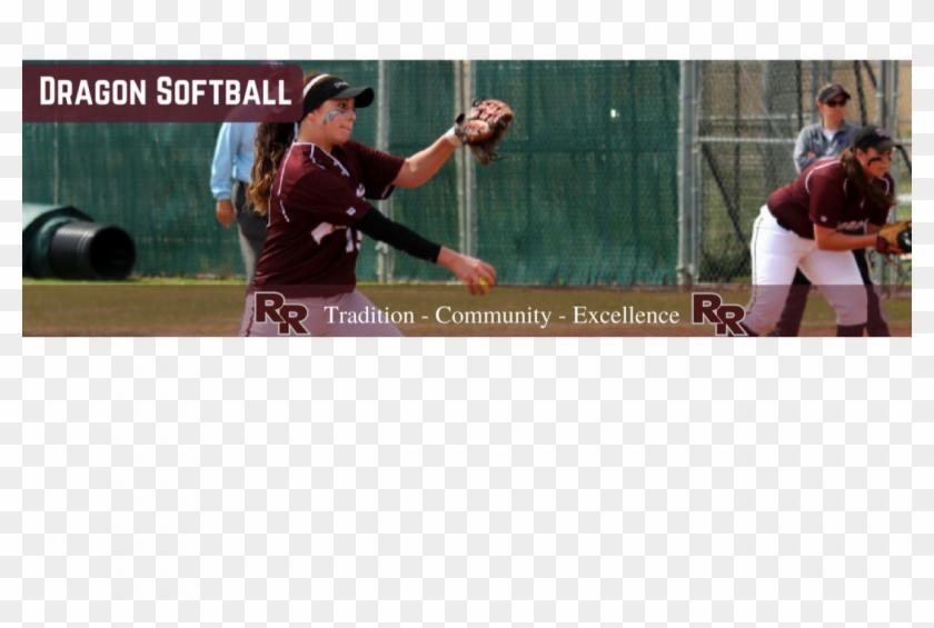 College Softball Clipart #5868416